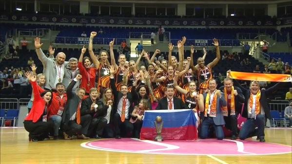 УГМК – трехкратный чемпион Евролиги!