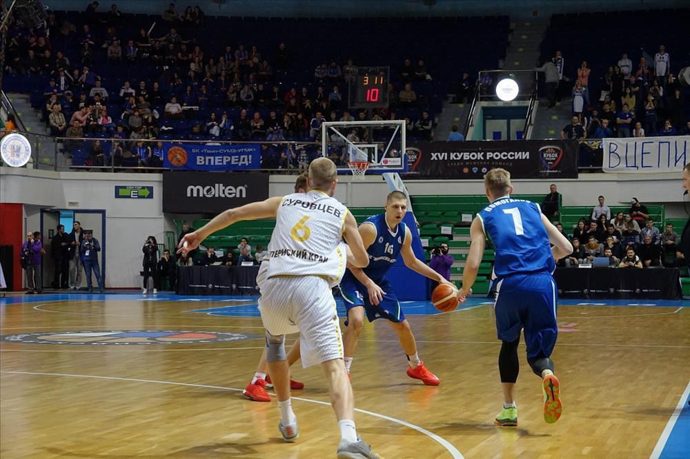 «Новосибирск» оставил «ПАРМУ» без финала